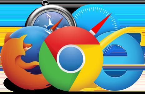 سازگاری طراحی سایت با مرورگرهای مختلف